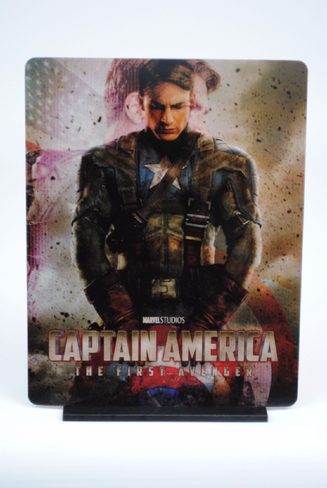 Captain America The First Avenger Lenticular Magnetic Steelbook Cover